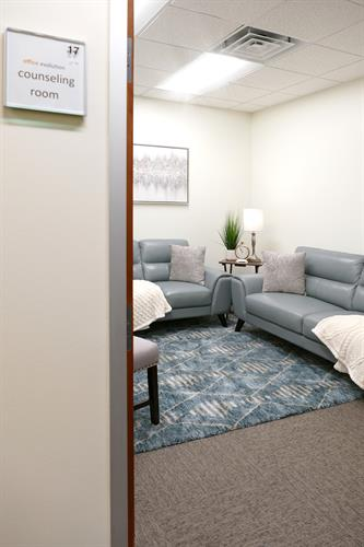 Therapy/Counceling Day Room available