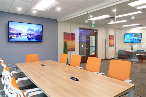10 Person Conference room availble