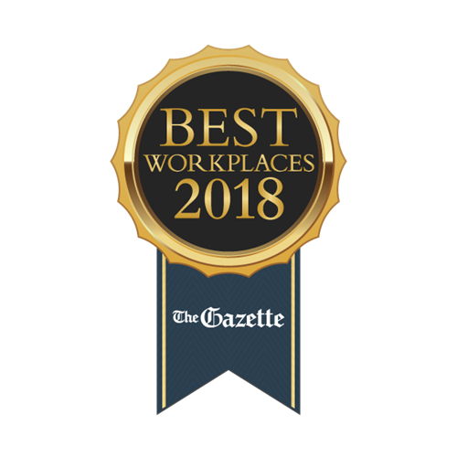 Voted one of the Best Workplaces