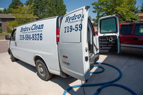 Hydro Clean Carpet Cleaning Van