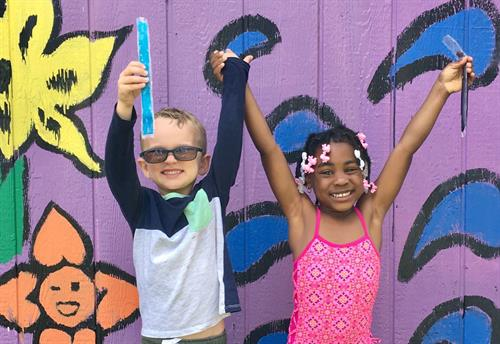 Our students having fun at summer camp!