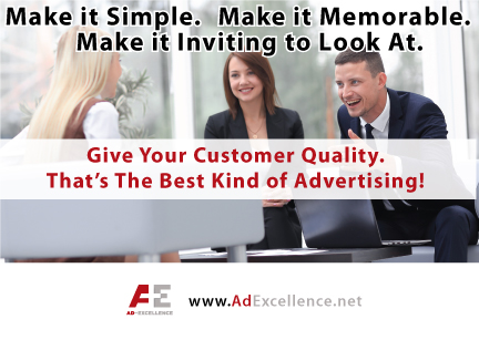 Give Your Customers Quality!