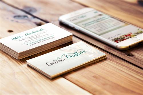 Cochise Crafters Business Card Design