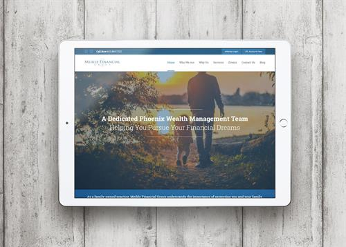 Meikle Financial Group Website Design