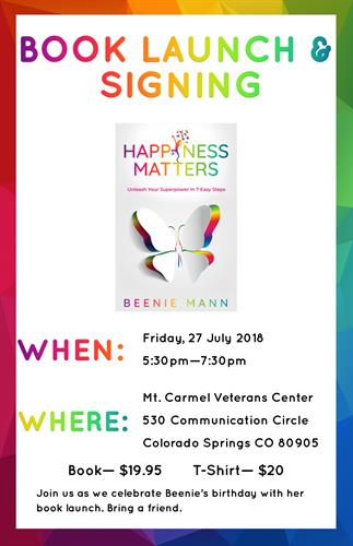 Book Launch and Book Signing