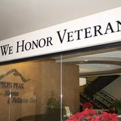 Pikes Peak Hospice is a Level 4 Partner with We Honor Veterans program.