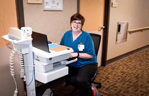Our inpatient unit nursing staff routinely care for patients with complex needs.