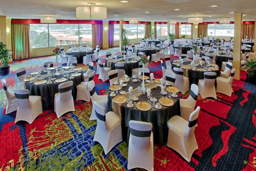 The Summit Ballroom is a gem in Colorado Springs. It show cases our beautiful Colorado Springs scenery. IT makes every event special!