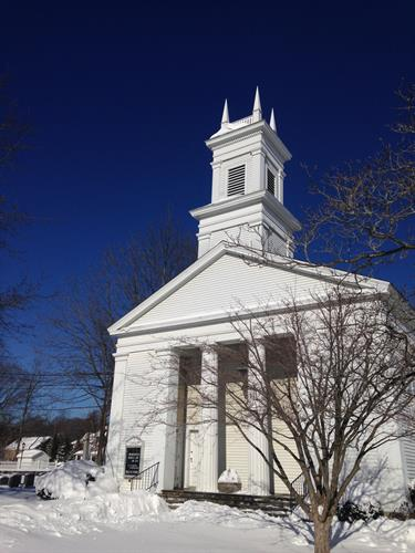 St. Stephen's Greek Revival Sanctuary, built in 1842