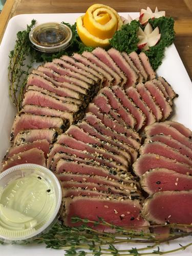 """Seared Tuna """"Carpaccio"""""""