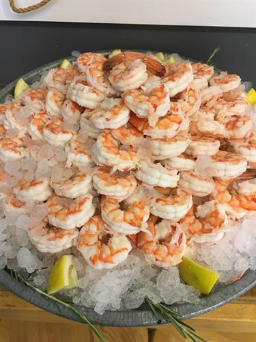 Shrimp ice bowl