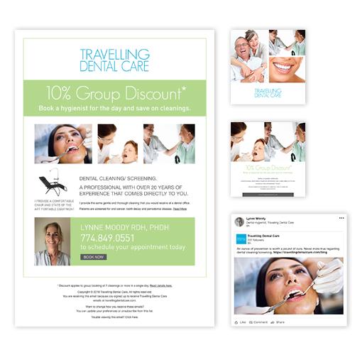 Email Blast - MailChimp, Linked In Ad & Instagram Ads