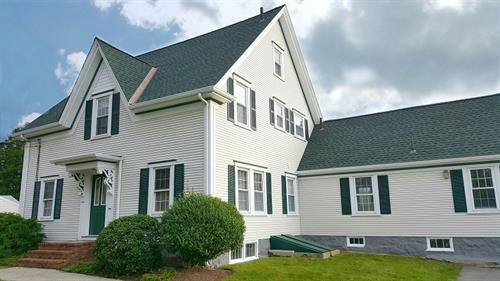 GAF Timberline HD Roofing System featuring copper valleys, Fairhaven, MA
