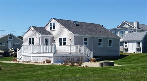 Maibec Dipped Cedar Shingles, Harvey Windows, GAF Roof Replacement, Westport, MA