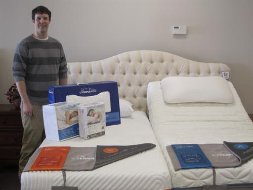 We have a great selection of quality pillows, mattress protectors, toppers and encasements to complete your sleep system.