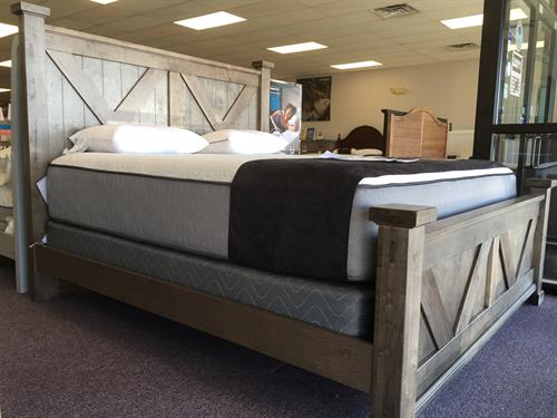 Choose a bed from one of our solid American grown hardwood bed collections.