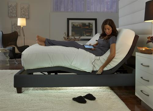 We have the latest in adjustable bed bases...from simple to blue tooth!