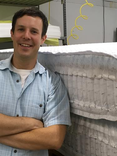 Meet Patrick Worley! A third generation matrress maker!