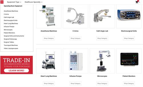 Operating Room equip at med.equipment