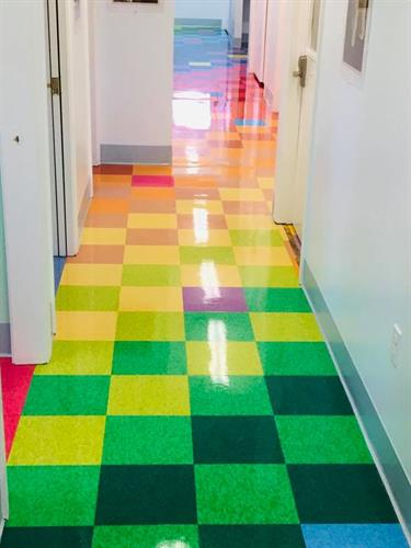 Marion Pediatric Floor Strip and Wax