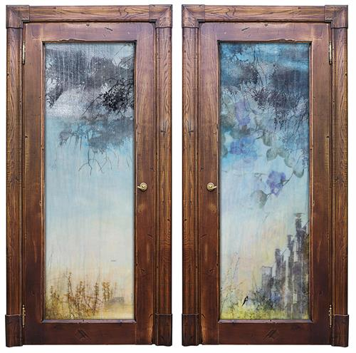 """Duende Glass French Doors"""