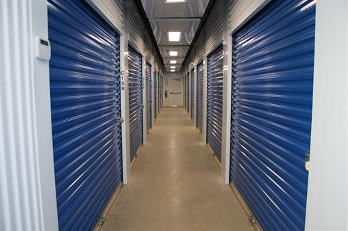 Heated and air conditioned storage