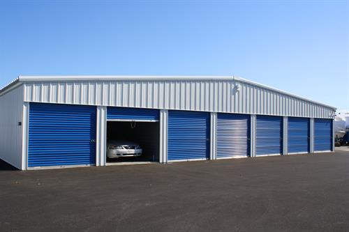Drive-in units for car storage
