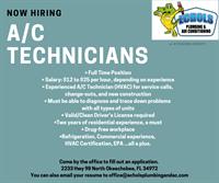 A/C Technicians