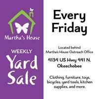 Martha's House Yard Sale