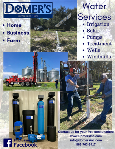We can do everyone's water - your home, your business, or your farm!