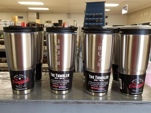 We carry Engel brand tumblers - best prices in town - below MSRP!