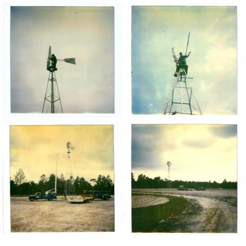 Domer's windmills. Circa 1980's