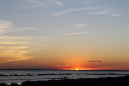 Sunset on Lake Okeechobee, feel free to send in photos via email to Countrystore@wokc.com!