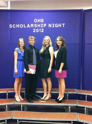 Scholarship Night 2012