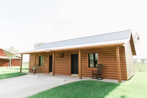 The cabins offer its guests an amazingly refined lodging experience