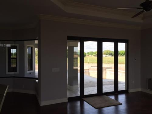 New SF 3 bedroom 2 1/2 bath 3744 Sq. Ft. with pool and outdoor kitchen