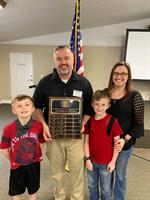 Ken Keller & Butler Family are Inducted into Kiwanis Hall of Fame