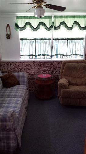Cabin #1 Living room