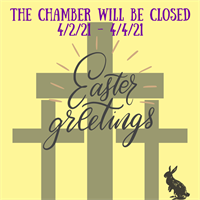 Chamber CLOSED for Good Friday