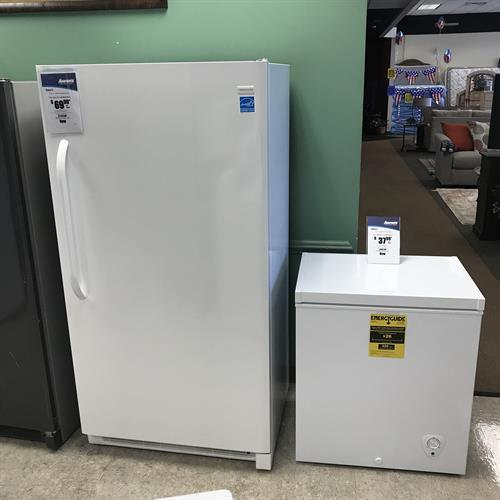 We carry all types of freezers ,Stand up and deep freezers
