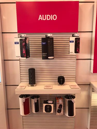 Bluetooth waterproof speakers now available in store.