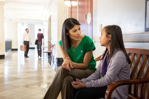 Volunteers advocate for children and teens in court about 4 times a year.