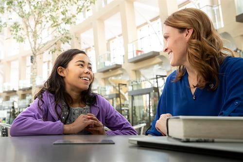 Volunteers teach kids and teens social skills, emotional skills and life skills