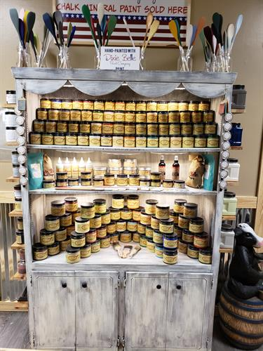 We have all your furniture restoration needs in stock! Dixie Belle Paints.