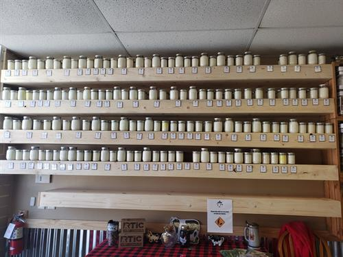 We have over 100 scents to choose from!