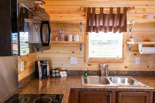 Delux Cabin Interior