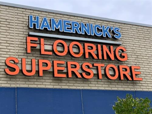 Our Flooring Superstore on Rice Street awaits you!