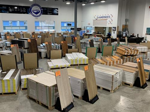 Our Flooring Superstore has the largest selection of In-Stock vinyl, tile, and wood flooring