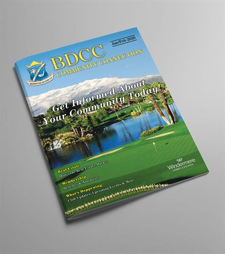 BDCC Custom 16 Page Magazine - Full Color 2020