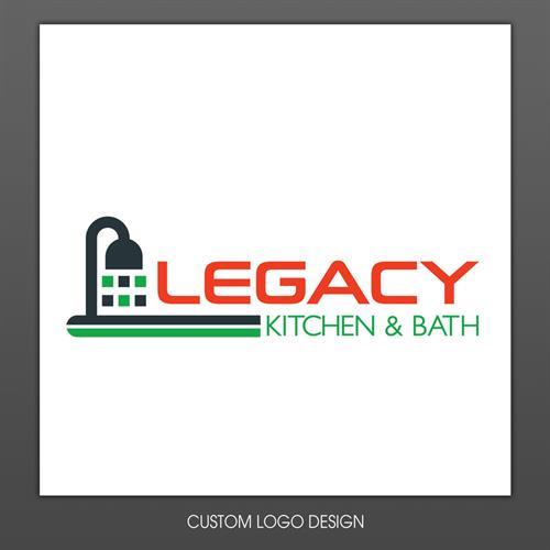 Legacy Kitchen & Bath Logo Design
